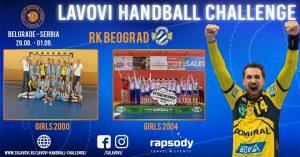 """RK Beograd učestvuje na turniru """"Belgrade Handball Challenge 2018"""""""