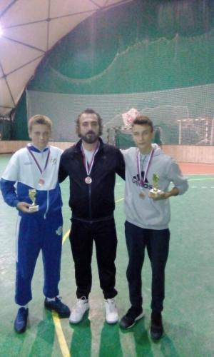 Letnji Superkup 3.mesto-Zoran Atanasković- najbolji srednji bek i Novaković Vuk najbolje desno kriloLetnjegSuperkuoa 2017-min